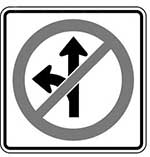 Disobey Sign | Proceed Contrary to Sign at Intersection